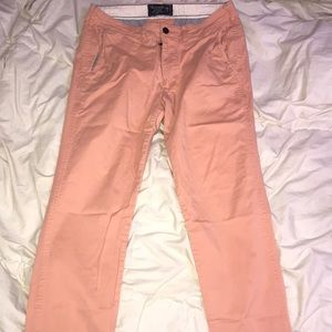 Abercrombie & Fitch Salmon super skinny chino